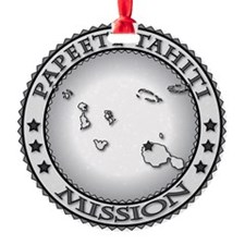 Papeete Tahiti LDS Mission Ornament