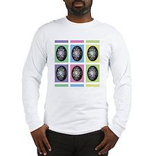 pysankawarhol-puzzle Long Sleeve T-Shirt