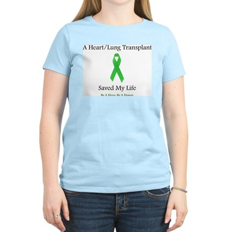 Heart/Lung Survivor Women's Light T-Shirt