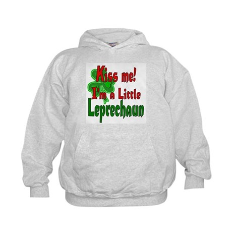 Kiss Little Leprechaun Kids Hoodie