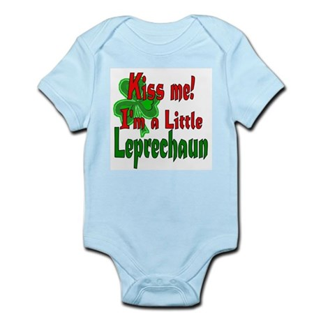 Kiss Little Leprechaun Infant Bodysuit