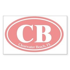 CB.Clearwater Beach.Dutch.pink Decal