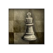 "chess_chess2 Square Sticker 3"" x 3"""