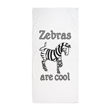 Zebras are Cool Beach Towel