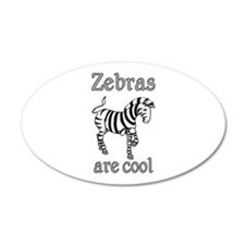 Zebras are Cool Wall Decal