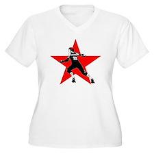 whiteoutlinegood. T-Shirt
