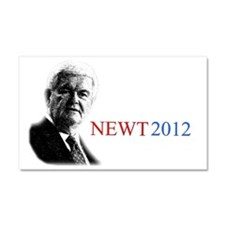 Newt YardSign Car Magnet 20 x 12