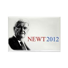Newt YardSign Rectangle Magnet