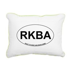 RKBA Rectangular Canvas Pillow