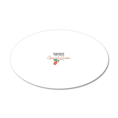 SpanishGuitar 20x12 Oval Wall Decal