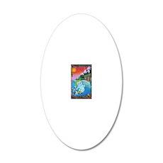 TheFool 20x12 Oval Wall Decal
