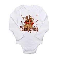 My First Thanksgiving Baby Body Suit