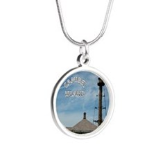 SanibelPdf2 Silver Round Necklace