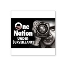 One Nation Under Surveillance Sticker