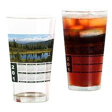 Denali 2012 Year At A Glance Drinking Glass