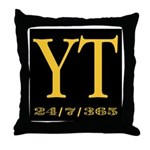 YT 24/7/365 Throw Pillow
