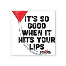 "So Good Square Sticker 3"" x 3"""
