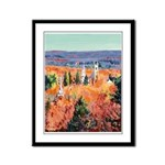 New England Autumn Framed Panel Print