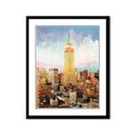 Manhattan Morning Framed Panel Print