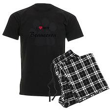 I Love My Beauceron pajamas