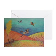 Touch The Sky HR Greeting Card
