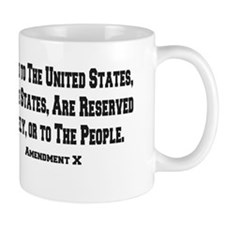 10th Amendment Mug