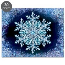 December Snowflake - wide Puzzle