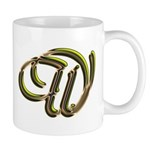 Phyllis Initial W Mug
