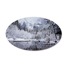 Wintry Cathedral Beach, Yose Wall Decal
