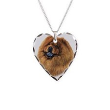 Chow Chow head Necklace