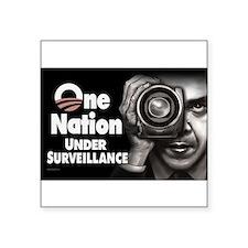 One Nation Under Surveillance Sticker