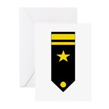 Lt. JG Board Greeting Cards (Pk of 10)
