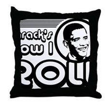 barackroll Throw Pillow