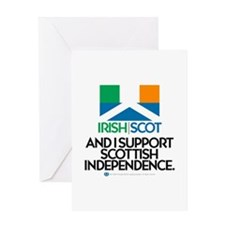 Ire/Scot Greeting Card