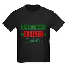 Reindeer Trainer Personalize T-Shirt