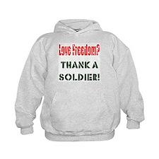 Thank Soldier Hoodie