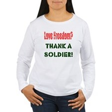 Thank Soldier Women's L/S T-Shirt