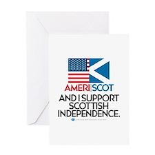 Ameri/Scot Greeting Card