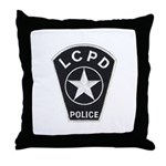 LCPD Throw Pillow