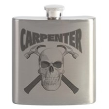 carpenter skull Flask