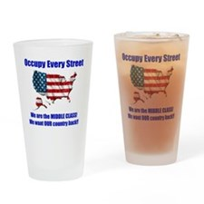 usoccupy1 Drinking Glass