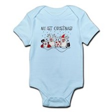 My First Christmas 1 Infant Bodysuit