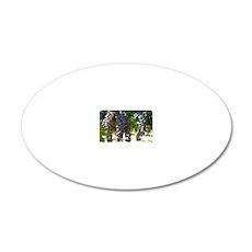 DHPurpGrapes3_11X14 20x12 Oval Wall Decal