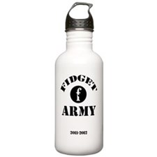 fidget-army Water Bottle