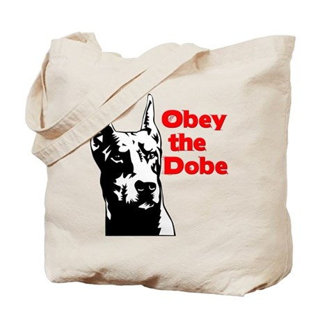 Obey the Dobe Tote Bag