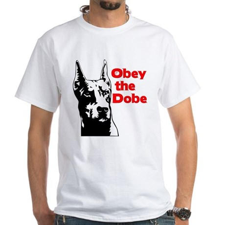 Obey the Dobe White T-Shirt