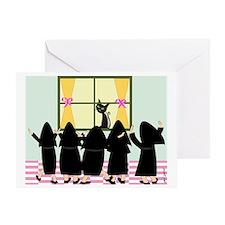 Eve nuns Greeting Card