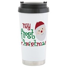 firstchristmas Ceramic Travel Mug