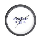 Funny Matthew Wall Clock