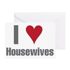 IHeartHousewives2 Greeting Card
